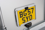 Clip-On Numberplate Holder
