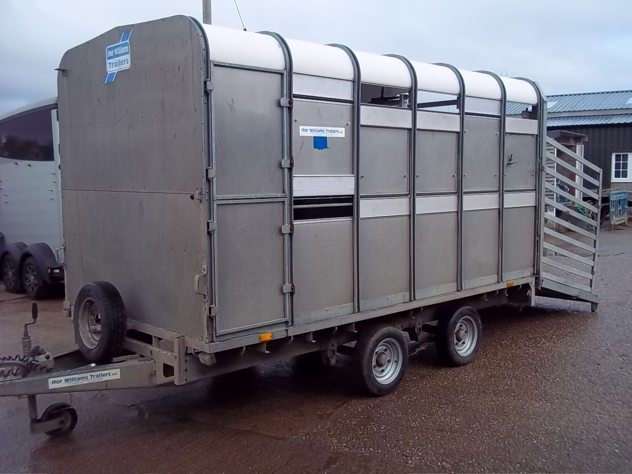 SOLD: Ifor Williams DP120