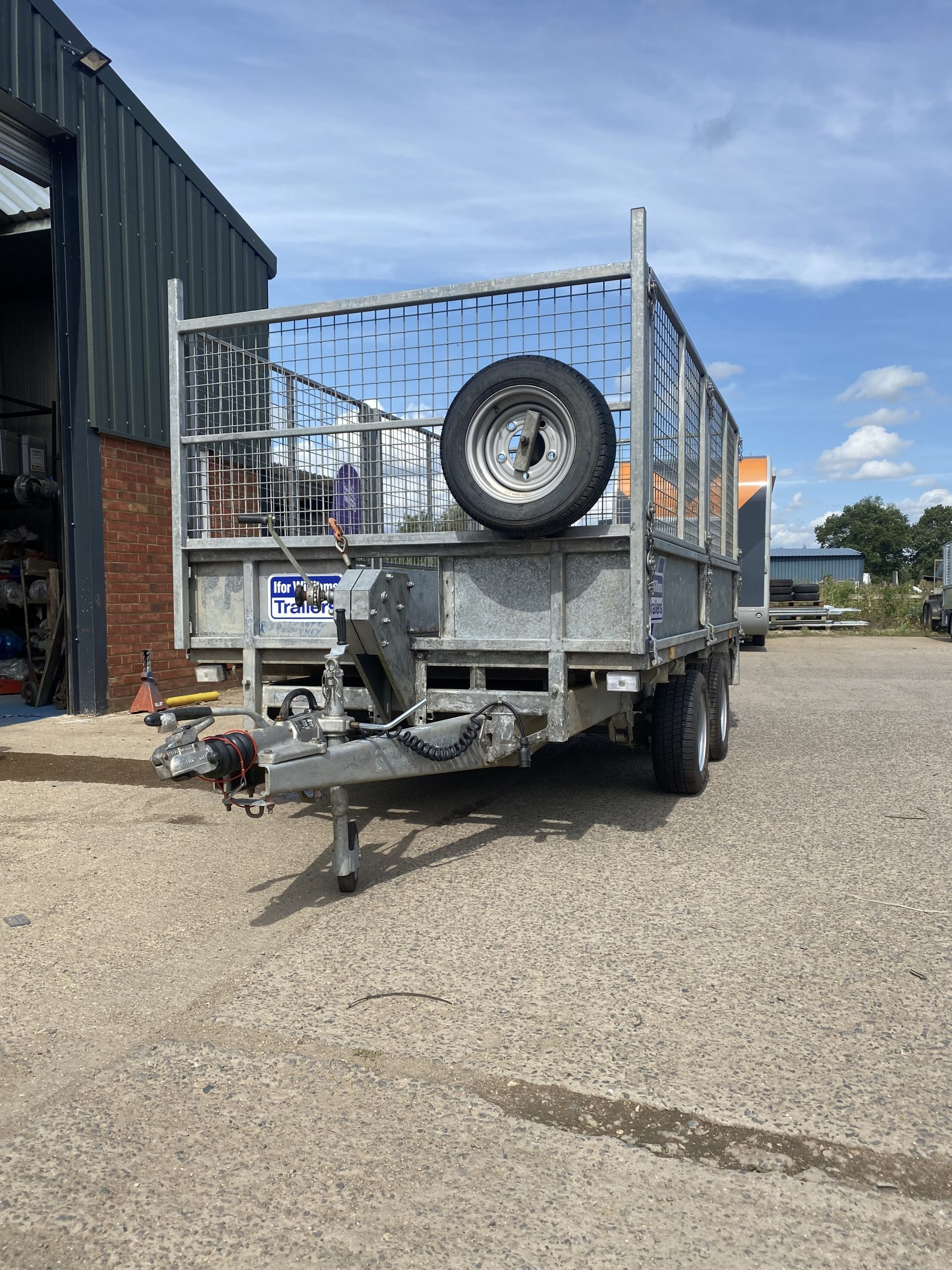 For Sale: 2008 Ifor Williams LM105 Trailer
