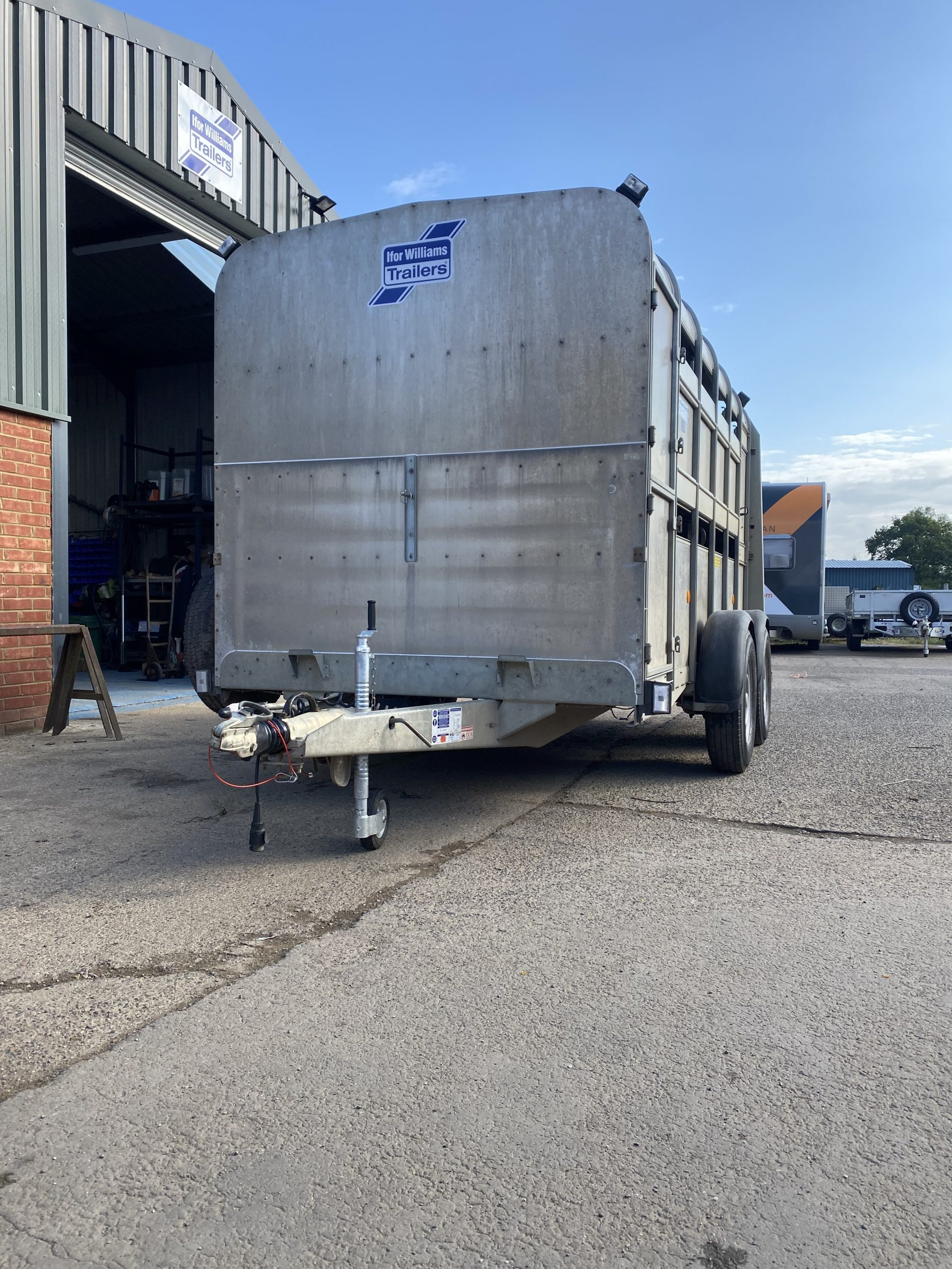 SOLD: 2015 Ifor Williams TA510 12ft sheep Trailer