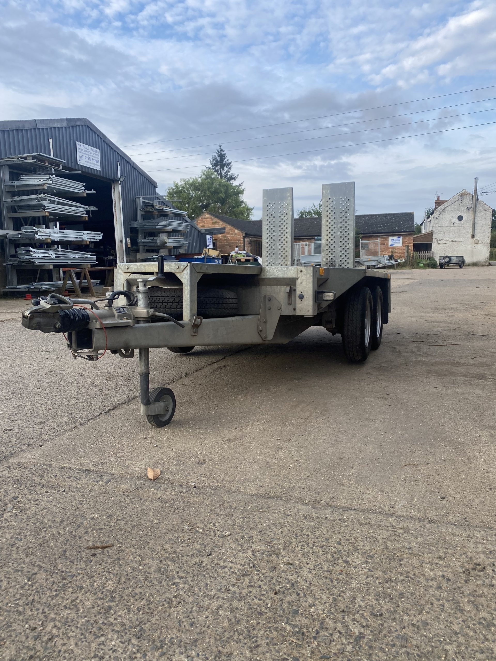 For Sale: 2007 Ifor Williams GX84 Plant Trailer