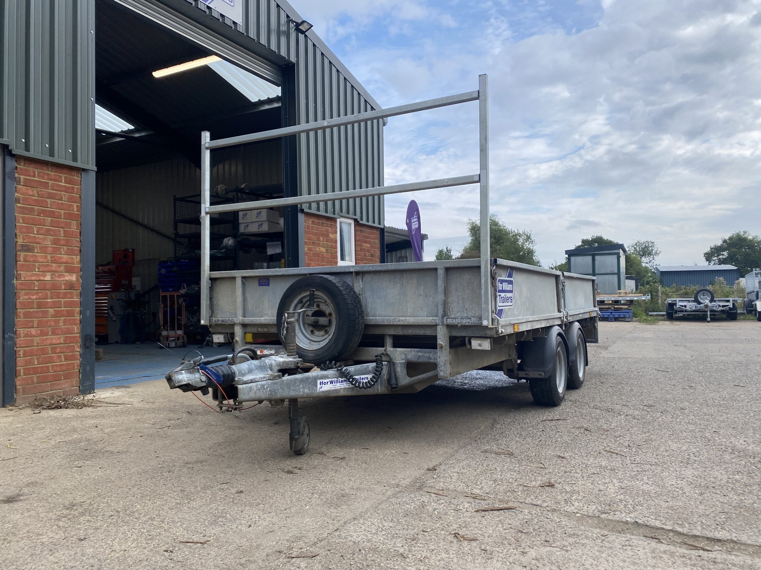 For Sale: 2015 Ifor Williams LM126 Flatbed Trailer