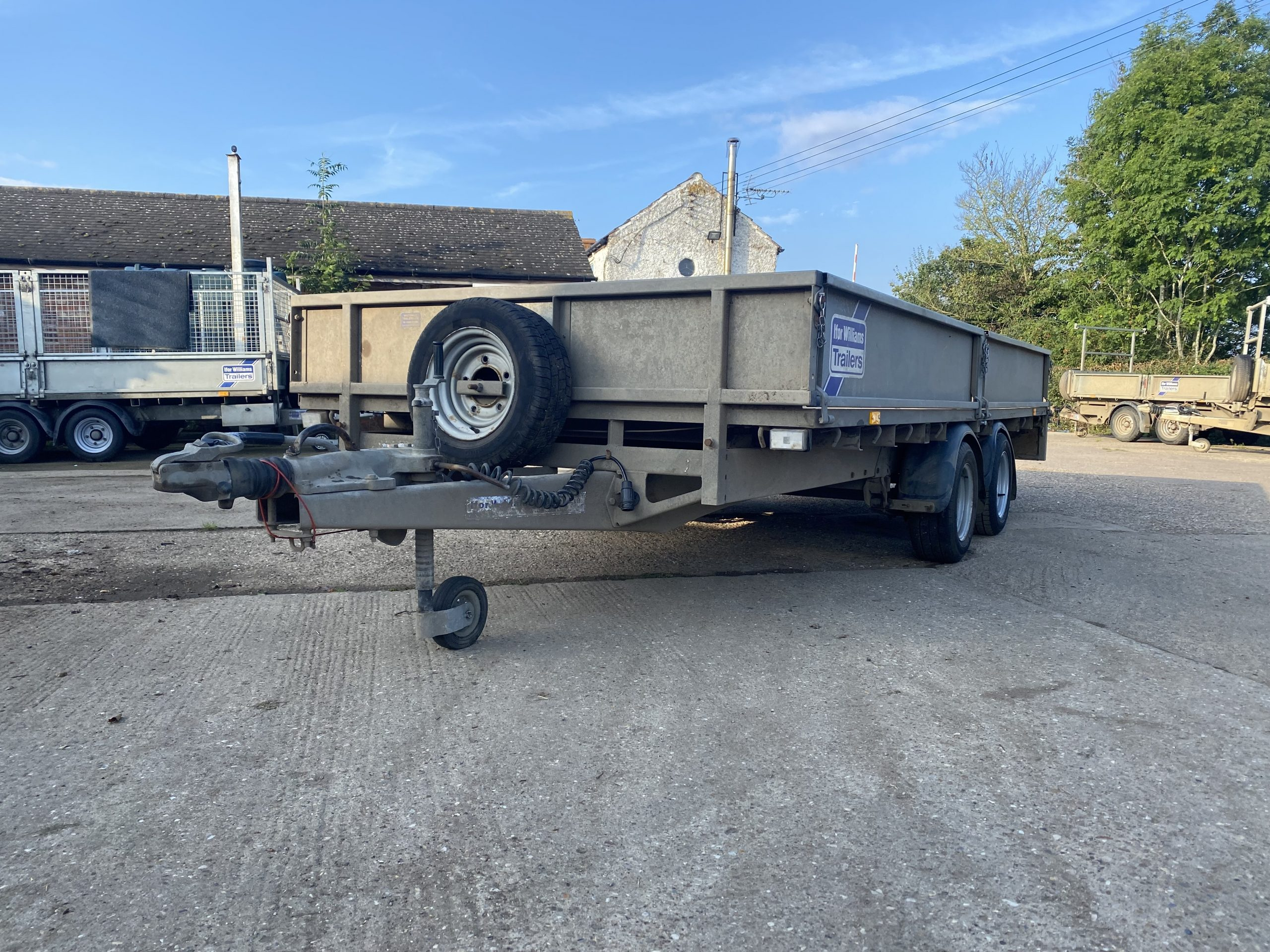 For Sale: 2014 Ifor Williams LM146 Flatbed Trailer