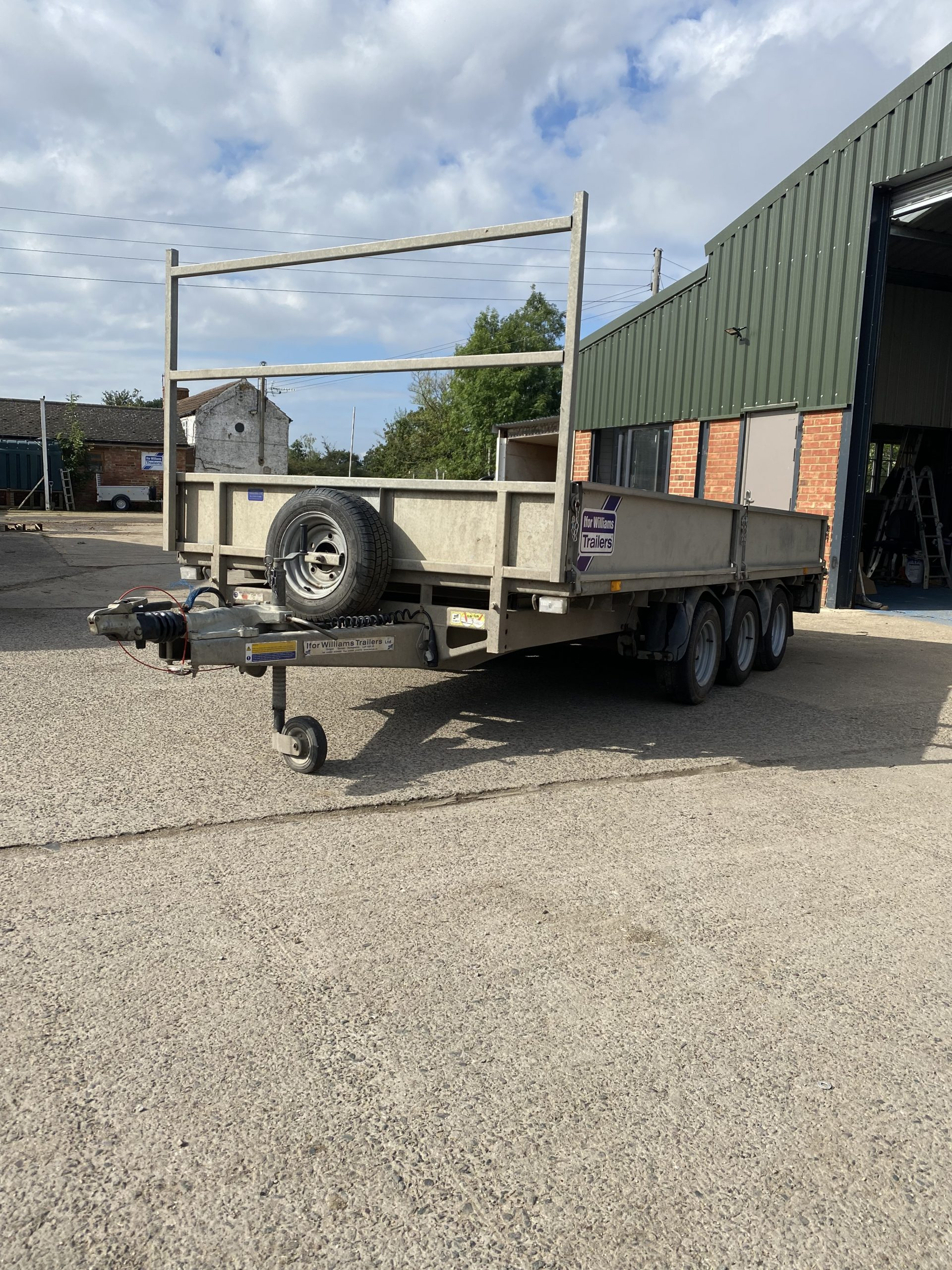 For Sale: Ifor Williams LM146 Tri axle Flatbed Trailer